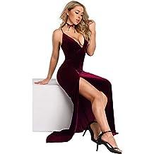 Pretty Robe Moulante Longue de Veulours Ever Soirée 07180 en Femme dqAdC