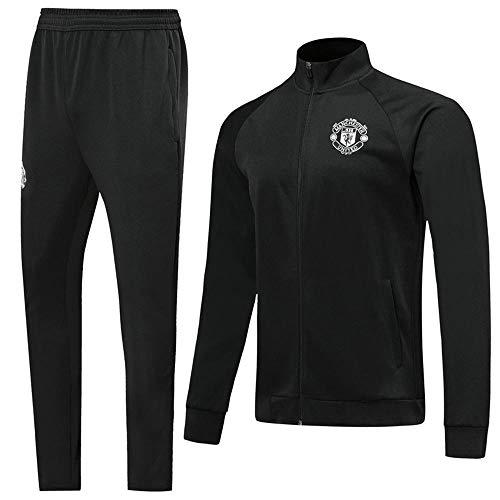 XunZhiYuan Club Langarm-Trikot mit hohem Kragen Fußball Geschenk Herren Jacke und Hose Sportbekleidung Anzug @ Photo Color_L