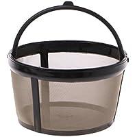 Lamdoo - Filtro de café de Repuesto para Cesta de café (tamaño pequeño, Reutilizable)