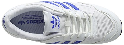 adidas Zx 750, Scarpe da Ginnastica Uomo Bianco (Ftwr White / Blue / Core Black)