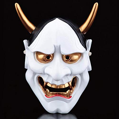 Halloween Horror Kostüm, Geist Kopf Maske Cosplay Samurai -