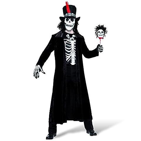 Voodoo Kostüm Herren 4-teilig für Halloween und Karneval