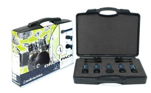 Audio-Technica MBDK5 MB Packs Drum Pack Midnight Blues 5 Microphones Drum Pack - Navy