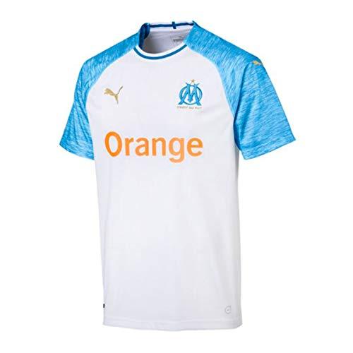 Puma - 753542 - Maillots Olympique de Marseille - bleu/blanc - L