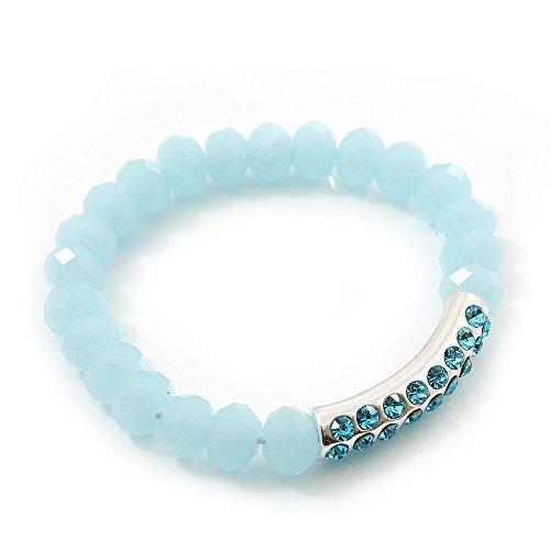 light-mountain-blue-crystal-braccialetto-elastico-con-cristalli-swarovski-elements-20-cm