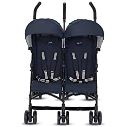 Inglesina Twin Swift - Sillita de paseo doble, unisex, color marina