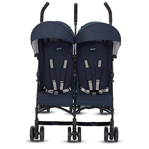Inglesina twin swift passeggino gemellare, blu scuro (marina)