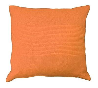 Nuances Du Monde 40 x 40 cm Cushion Cover Coton Tisse Lana, Black_Parent
