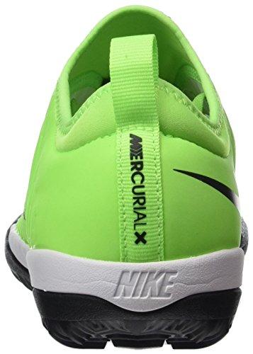 Nike Mercurial X Finale Ii Tf, Chaussures de Football Compétition homme Vert (Black/white-elctrc Grn-anthrct)