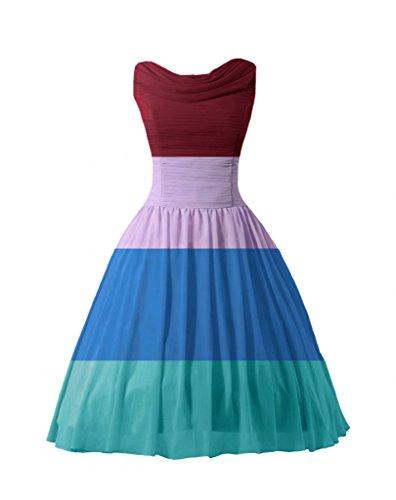 daisyformals Thé Demoiselle d'Honneur Longueur robe vintage Party Soirée Robe Robe (bm1639) Multicolore - Other Colors
