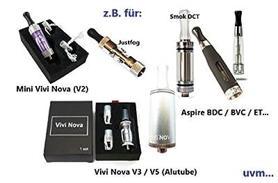 Round 510 Drip Tip im 2er Sparpack, fit für ViVi Nova / Justfog / DCT und für viele andere 510 Clearomizer, verschiedene Farben von Anaconda-accessoires