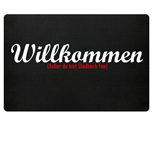 Fußmatte Anti Gladbach in schwarz - Lustige Fußball gebraucht kaufen  Wird an jeden Ort in Deutschland
