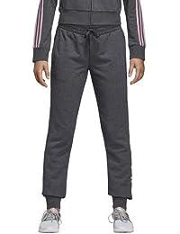online store c6f97 4fda2 adidas Essentials - Pantaloni lineari, Donna, Pantalone, Essentials Linear  Pants, Dark Grey