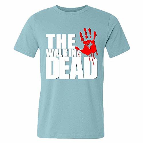 Mens 03 The Walking Dead 100% Cotton T-Shirt Zombie XL