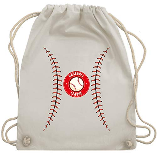 Karneval & Fasching - Baseball Kostüm - Unisize - Naturweiß - WM110 - Turnbeutel & Gym Bag