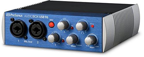 AudioBox nur Schnittstelle PC/Mac - 2 Mic Pres blau