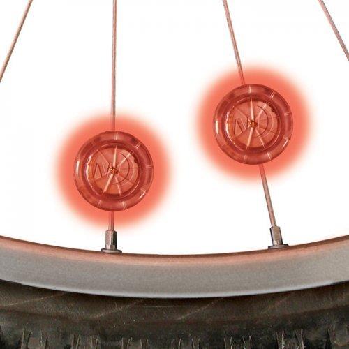 Nite Ize See'em - Luces para visibilidad y seguridad para hombre, color rojo