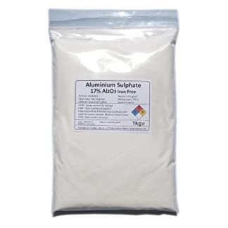 1kg of Aluminium Sulphate Al2(S04)3 Iron Free - Mordant/Purifier/PH reducer 7