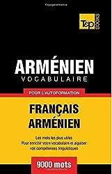 Vocabulaire français-arménien pour l'autoformation. 9000 mots