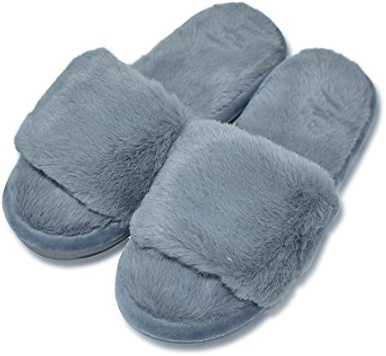 MStar Mujer Bonito Bettenhaus Zapatos Warmer Peluche Slipper Algodón Pantuflas Antideslizantes Guantes para Otoño...
