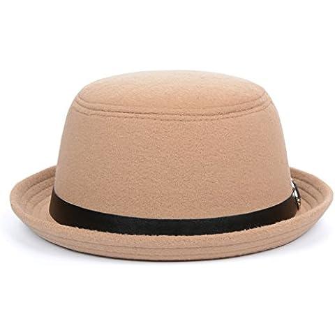 Jazz britannico cappello/Cappello di piccola cupola di piegatura/Ball cap/Visiera