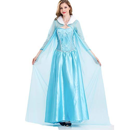 costyle Frozen Aisha Prinzessin Kleid Maskerade Kostüm Brautkleid Cocktailkleid