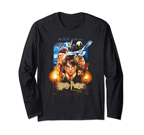 Harry Potter Movie Poster   Langarmshirt -