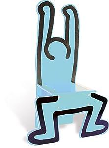 Vilac 48 x 23 x 72 cm Keith Haring Silla (Azul)