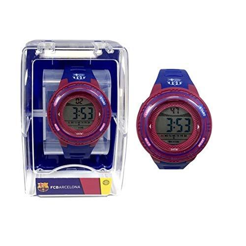 Reloj del Fútbol Club Barcelona Cadete digital.Presentado en una cajita diseño FC Barcelona.Producto oficial licenciado por el Fútbol Club Barcelona