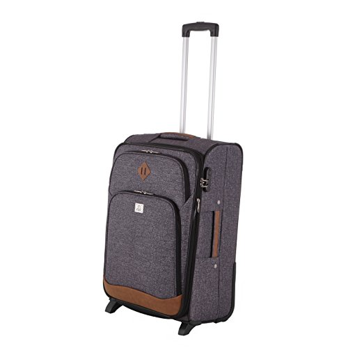 Rada Trolley Rainbow T1 66cm Koffer in verschiedenen Farben (blue dots) grey two tone cognac