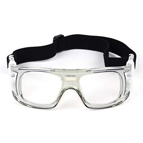 WYFDM Sportbrillen Brillen, Basketball Fußball Volleyball Anti-Fog und Anti-Schock tragbare Brille Outdoor Sportbrillen Unisex,Gray (Brille Basketball)