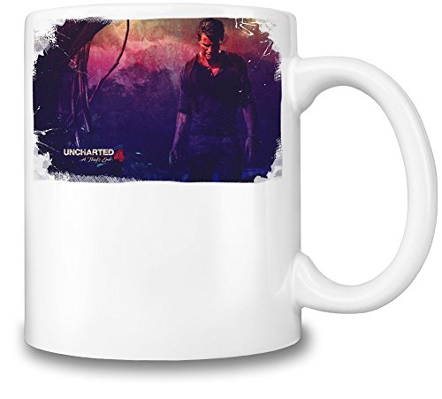 Uncharted 4 Poster Tazza