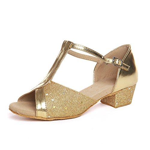Latin Kinderschuhe/ Damenschuhe/Square Dance Schuhe für Mädchen/ dance Praxis Schuh U