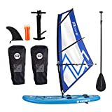 ROHE Pack Paddle Gonflable Windsurf avec Kit Planche a Voile