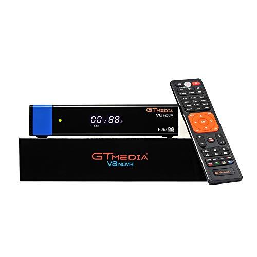 Top Venta GTMedia V8 Nova Azul DVB S2 TV Receptor satelite Support 1080P Full HD PowerVu Biss chiave Newca CCCAM Set-Top Box, con Built-in WiFi - Azul