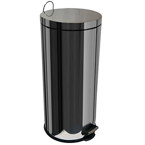 home-discount-30-litre-stainless-steel-pedal-bin-with-inner-bucket-free-delivery