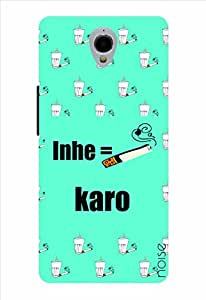 Noise Inhe Karo Printed Cover for Alcatel One Touch Idol X Plus