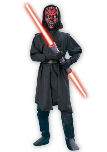 Child Darth Maul Deluxe Fancy dress costume X-Large