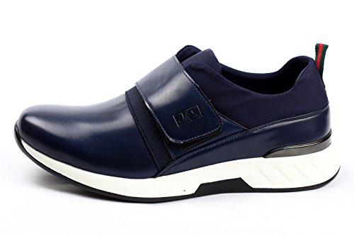 JAS fashionmens à enfiler Baskets style décontracté sport mode POMPE actif chaussures pointure 6 7 8 9 10 11 Bleu Marine
