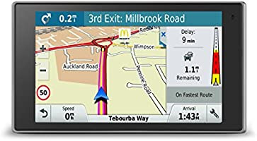 Garmin DriveLuxe 50LMT-D EU 5 inch Satellite Navigation with Lifetime Map Updates and Digital Traffic for UK, Ireland and Full Europe, Bluetooth and Magnetic Mount
