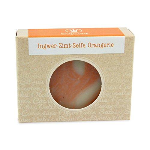 Seifenreich Orange Ingwer Seife Orangerie, 1er Pack (1 x 100 g)