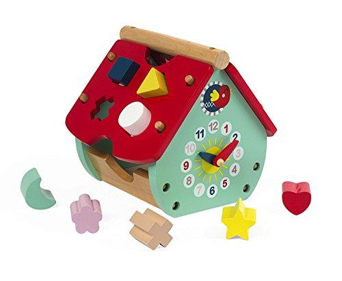 Janod - J08008 - Maison à formes baby forest