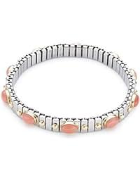 Nomination Damen-Armband Klein Koralle Rosa 042109/010