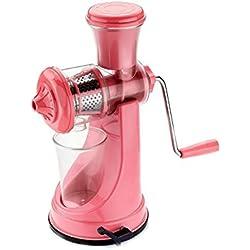 Primelife kitchenware Plastic High Standard Fruit and Vegetable Juicer (Pink)