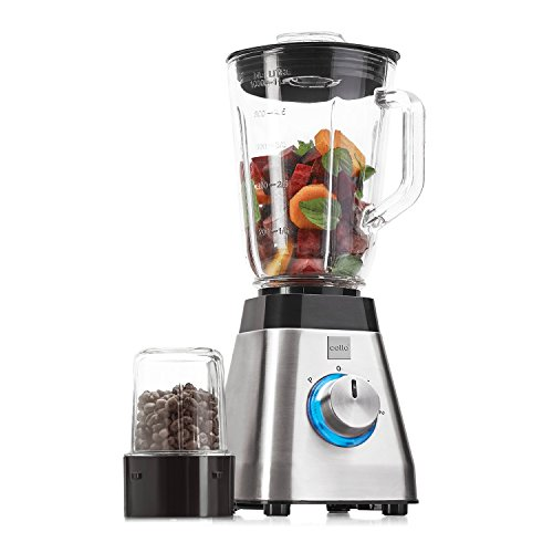 Cello Blend-N-Grind BNG-100B 500-Watt Blender (Black and Transparent)