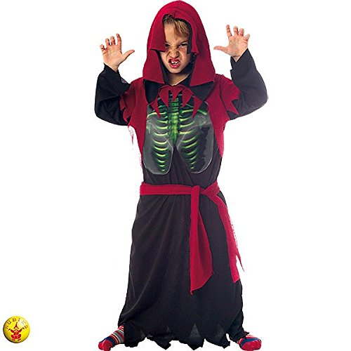 Rubies - Disfraz infantil de esqueleto holográfico, L (S8110)