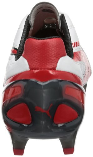 Puma  King SL FG, Chaussures de football homme Rouge - Red