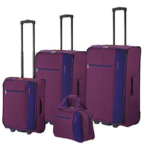 Travelite Portofino 2-Rollen Kofferset + Boardtasche 4tlg.