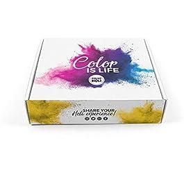 Pacco con 8 sacchetti di Holi Powder da 100g – Edizione Speciale – 8 Colori