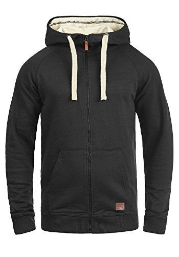 BLEND Speedy 20704569ME Kapuzenjacke , Größe:L;Farbe:Black (70155) Fleece Zip Hoody